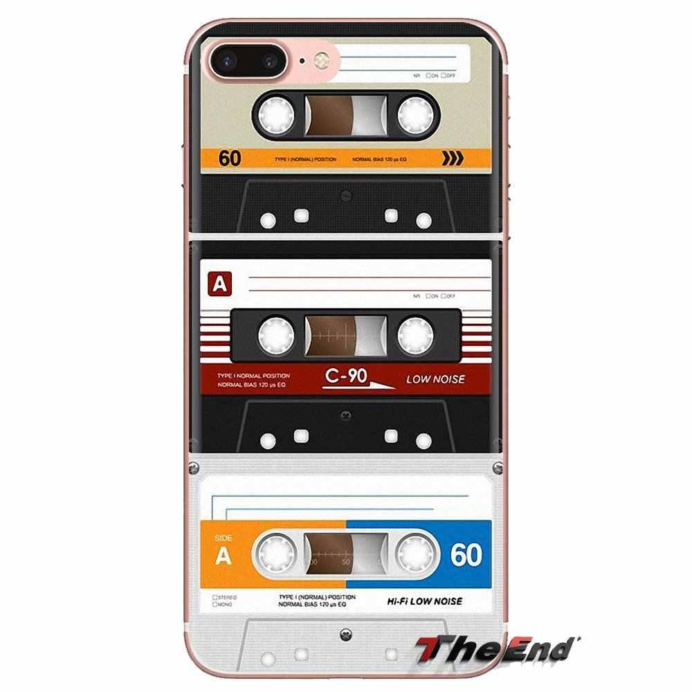 Kassette Für Samsung Galaxy S2 S3 S4 S5 MINI S6 S7 rand S8 S9 Plus Hinweis 2 3 4 5 8 Coque Fundas Weiche Transparente Fall Abdeckungen