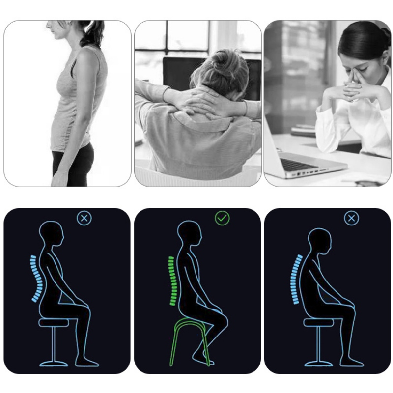 Fitness Spine Posture Corrector Breathable Protection Back Shoulder Posture Correction Band Adjustable Humpback Back Pain Brace in Back Support from Sports Entertainment