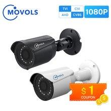 MOVOLS – caméra de vidéosurveillance intérieure et extérieure 1080P HD 2MP, étanche, capteur Sony analogique, IR AHD / TVI / CVI/CVBS