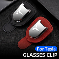 Soporte multifunción para gafas de sol de coche, Clip para Tesla modelo 3-Y-S-X, portátil, almacenamiento de gafas, organizador Interior, accesorios