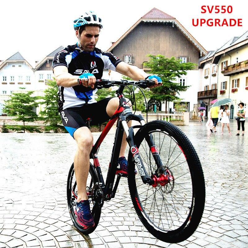 New Brand Mountain Bike Carbon Fiber Frame SHIMAN0 M370/3000 27 Speed M315 Hydraulic Disc Brake Lockable Suspension MTB Bicycle