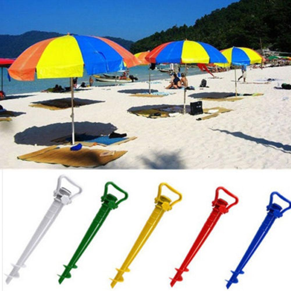 Beach Fishing Stand Rain Gear Garden Patio Sun Umbrella Holder Parasol Ground Earth Anchors Spike Umbrella Stretch Stand Holder