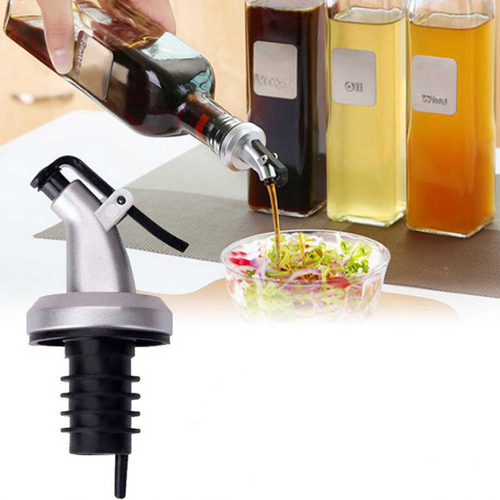 Minyak Tutup Botol Anti Bocor Botol Flip Penutup Dapur Minyak Pour Spouts Botol Dispenser
