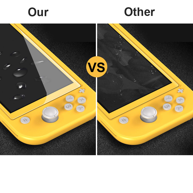 Купить с кэшбэком Tempered for Nintend Switch Lite NS Glass Ultra Clear Full HD Screen Protective Film Surface Guard Console Protector Cover Skin