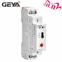Geya GRT8 LS din interruptor de escada ferroviária, temporizador de iluminação 230vac 16a 0.5 20 minutos de aceleração, relé interruptor de luz