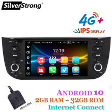 Gps-Player Auto-Radio Silverstrong CARPLAY Grande Fiat Linea/doblo for I-GO Option