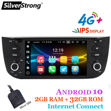 Multimedia-Player CARPLAY Silverstrong Auto-Radio Android Option Grande for Punto Linea