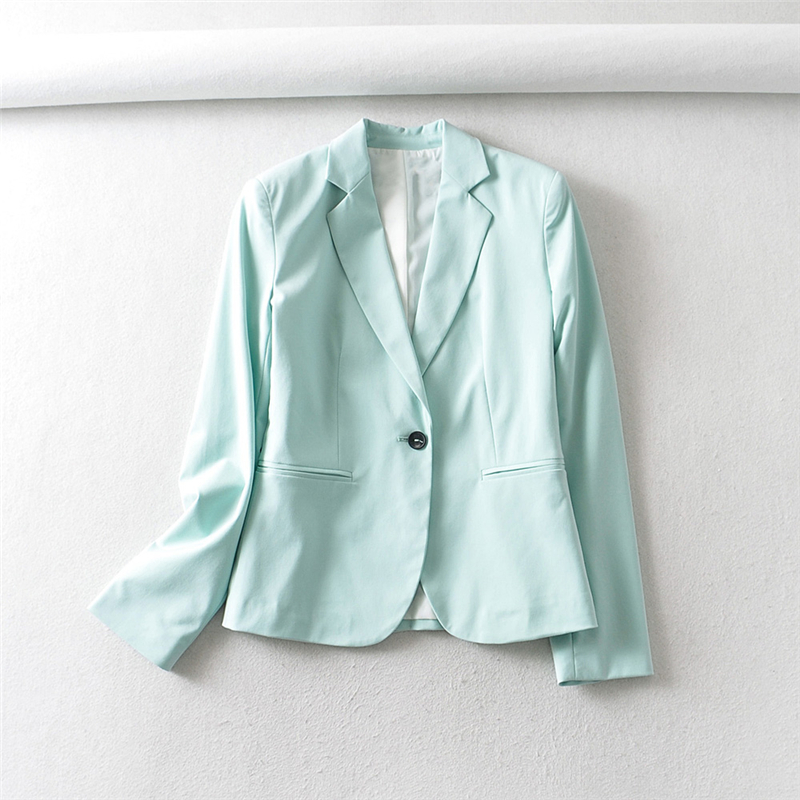 Hf5af59a97afc4bf79eff85b66d74435e4 - Autumn Women Pant Suits Pink Single Button Blazer Jacket+Zipper Trousers Office Ladies Suits Two Piece Set Female Outwear