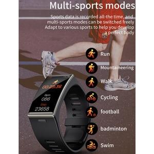 Image 3 - D M12 IP68防水スマート腕時計メンズレディース1.9インチ170*320画面スマートウォッチスポーツ心拍数血圧バンドアンドロイドios
