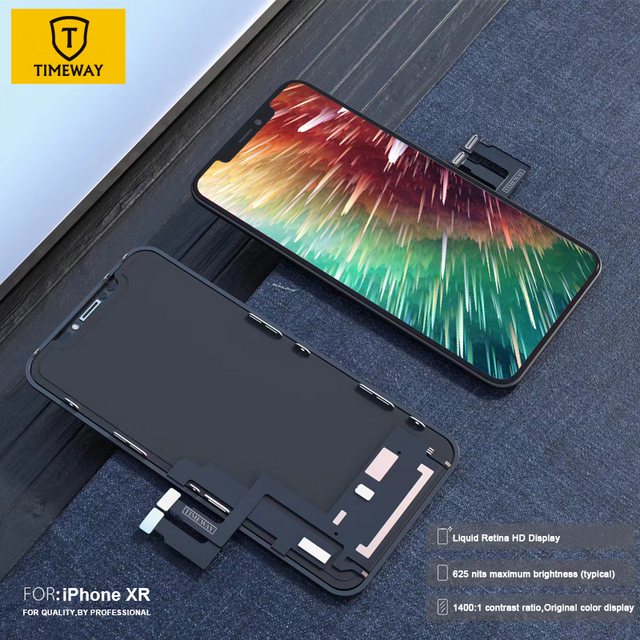 For iphone X XS Max XR LCD Display For Tianma OLED OEM Mobile Phone Screen Digitizer For iphone X LCD Assembly Black with Gift