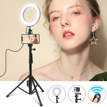 Ring Licht Stativ Für Handy Youtube Facebook Vlog Video Fotografie Beleuchtung Halterung Bluetooth Fernbedienung Selfie Stick