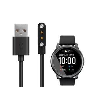 Cable de carga para Xiaomi Haylou Solar LS05 Smart Watch cargador adaptador magnético USB cargador Dock para Haylou accesorios solares