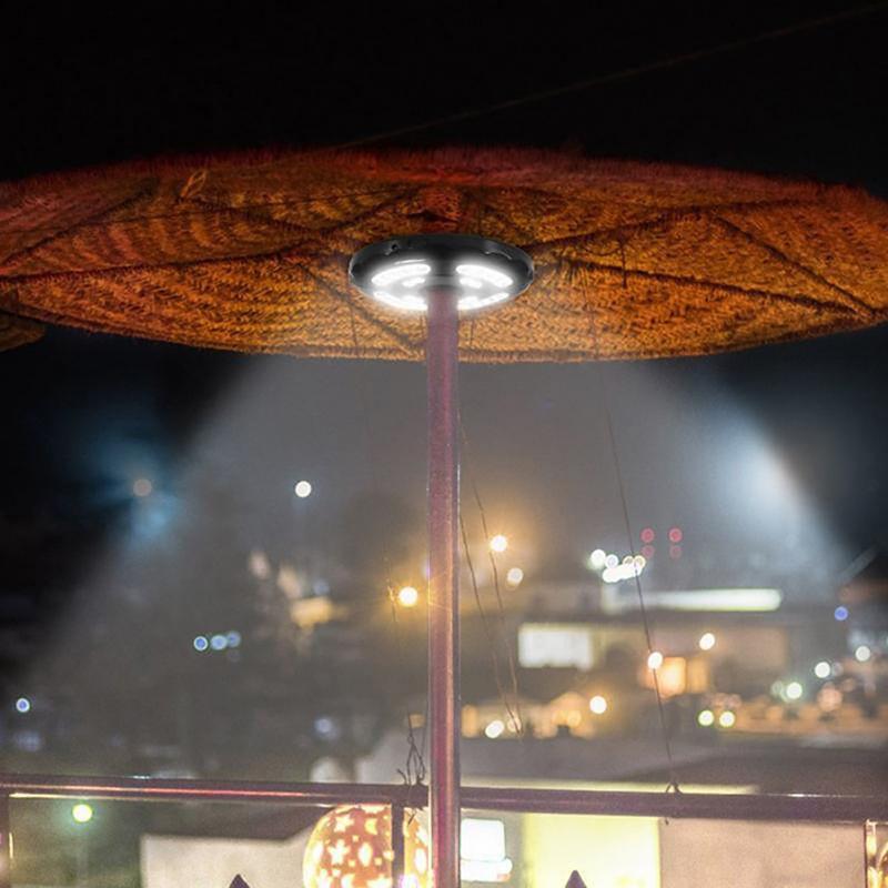 1pc Patio Umbrella Lights Rechargeable