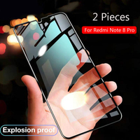 Lainergie For Xiaomi Redmi Note 8 Pro Tempered Glass Full Glue 9H Shock-Proof Screen Protector For Redmi Note8 Pro Glass