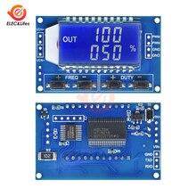 1 способ ЖК-дисплей Цифровой PWM генератор сигналов частота импульсов регулируемый Рабочий цикл модуль 1Hz-150 кГц ttl уровень серийный модуль генератора