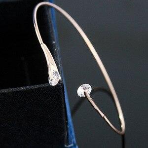 Image 4 - ZYZQ גבוהה באיכות אביזרי חתונה צמיד עם מבריק מסנוור קריסטל מעוקב זירקון אבן אופנה צמיד סיטונאי המון