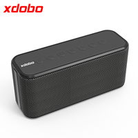 XDOBO X8 Plus II 80W Portable Wireless Bluetooth Speaker BT5.0 Power Bank TWS Subwoofer Battery Capacity 10400mAh Audio Player