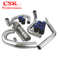 Bolt On Front Mount Intercooler Piping pipe Kit Fits For VW Jetta Golf 1.8T 98 05 Red / Blue / Black