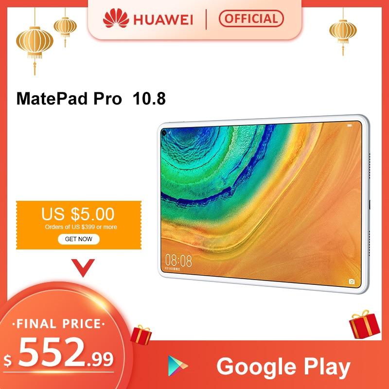 "Original HUAWEI MatePad Pro Turbo 10.8"" Tablet Kirin990 Core Android 10.0 7250mAh WIFI LTE Type-C Four-channel Speaker 7250mAh"