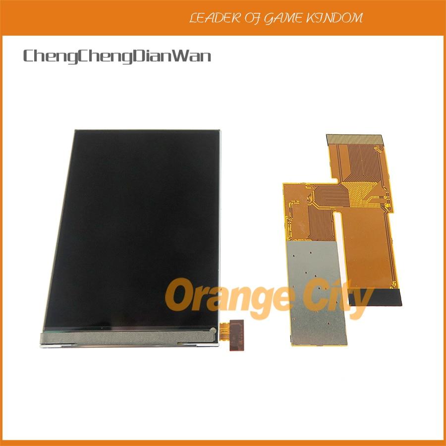 Pour les Kits de remplacement d'écran LCD V2 de Console GBA pour écran lcd rétro-éclairé GBA 10 niveaux écran haute luminosité IPS LCD V2