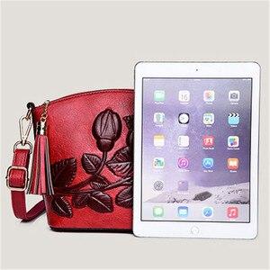 Image 3 - 3D Rose Flower Small Bags For Women 2018 Luxury Handbags Women Bags Designer Women Messenger Shoulder Bag Sheel Sac A Main Femme