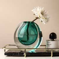 Moderne Licht Luxus Glas Vase Dekoration Kreative Wohnzimmer Blume Anordnung Hydrokultur Tisch Dekoration