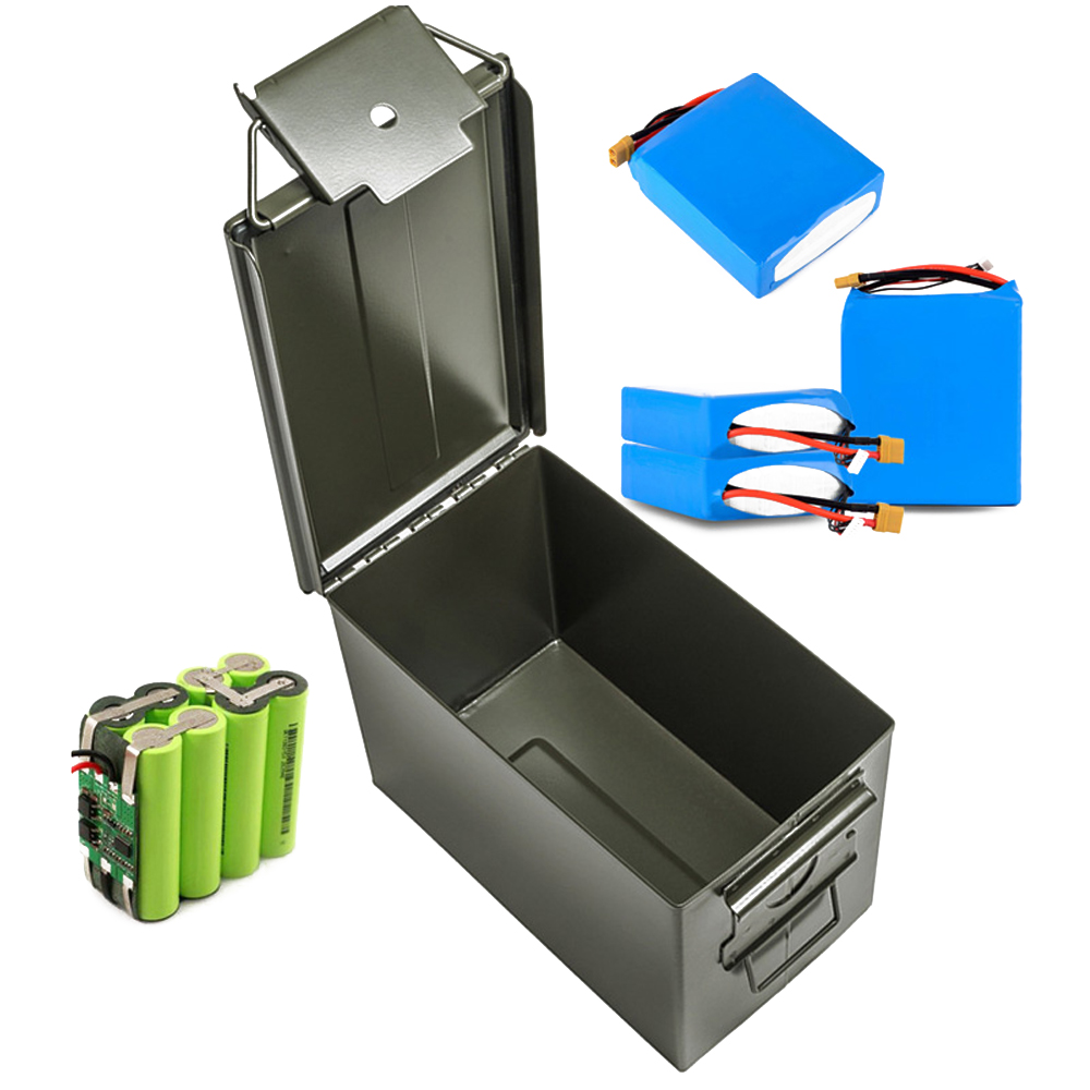 Fireproof RC Model Lipo Battery Safety Protective Storage Case Explosion Proof Box Handheld Iron Case Waterproof Seal Boxes