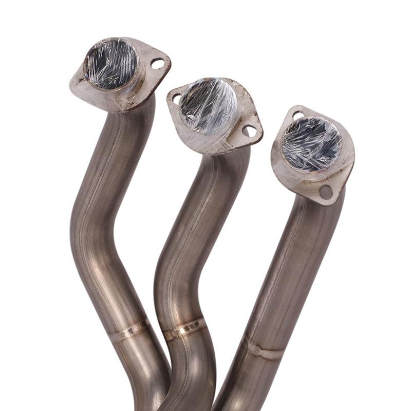 Передняя средняя звеньевая труба выхлопная система из титанового