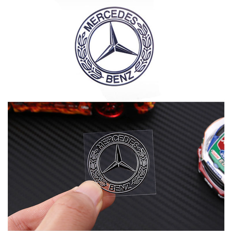 1PC Car Styling 3D Sticker Car Decorative Interior sticker For Mercedes Benz AMG CLK CLA GLK GLE GLC A B C E S class Accessories image