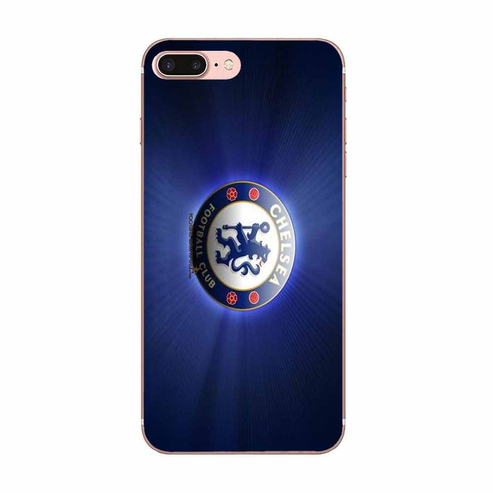 3d Chelseas Fc Logo น่ารักสำหรับ Huawei Nova 2 V20 Y3II Y5 Y5II Y6 Y6II Y7 Y9 G8 g9 GR3 GR5 GX8 Prime 2018 2019