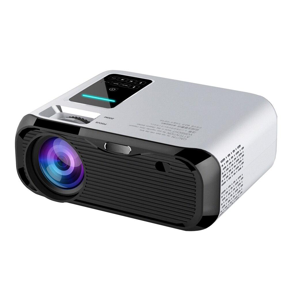 Real TV E500 HD Projector 3500 lumens support 1080P Home Theatre Projectors Beamer HDMI VGA AV TF USB 6