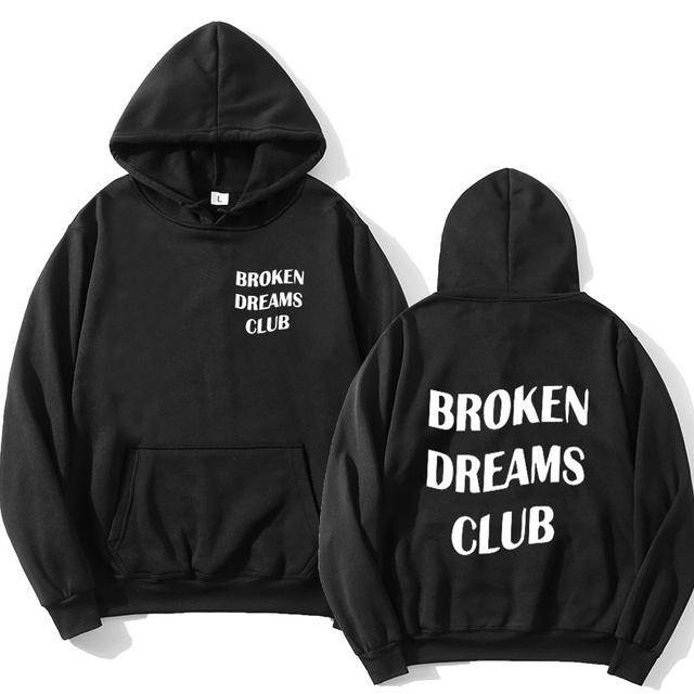 BROKEN DREAM CLUB THEMED HOODIE (18 VARIAN)