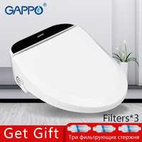 GAPPO inteligentny sedes pokrowiec na deskę sedesową bidet elektryczny pokrowiec na deskę sedesową inteligentna toaleta ciepłe czyste pokrycie siedzenia