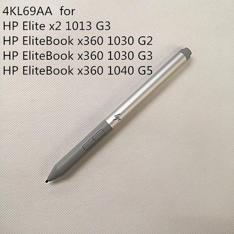 NEW 4KL69AA  For HP EliteBook X360 1040 G5  1030 G2 G3  Elite X2 1013 G3 Rechargeable Active Handwriting Pen