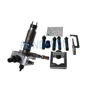 Image 4 - Diesel Service Repair Workshop Common Rail Injector Adapter Clamping Fixture Disassembly Tools for Bosch Denso CRS Tester Bench