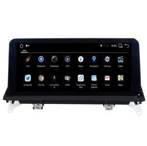 Image 4 - Android 7.1/9.0 AUTO lettore DVD PER BMW X5 E70 BMW X6 E71 audio stereo Multimedia GPS stereo monitor ips schermo CIC CCC Sistema