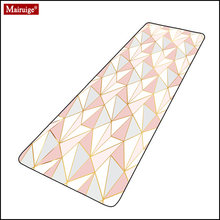 Pink mouse pad xxl gamer simple geometric lines large desk mat