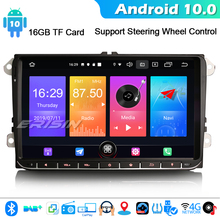 "ERISIN 2728 9"" Android 10.0 Car stereo Autoradio for VW Passat Golf 5/6 Tiguan Jetta Caddy DAB+ GPS WIFI 4G Bluetooth DVB T/T2"