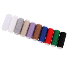 10 Spools 20S/3 Denim Line Cord Household Shoes Bag Leather Jeans Sewing Thread