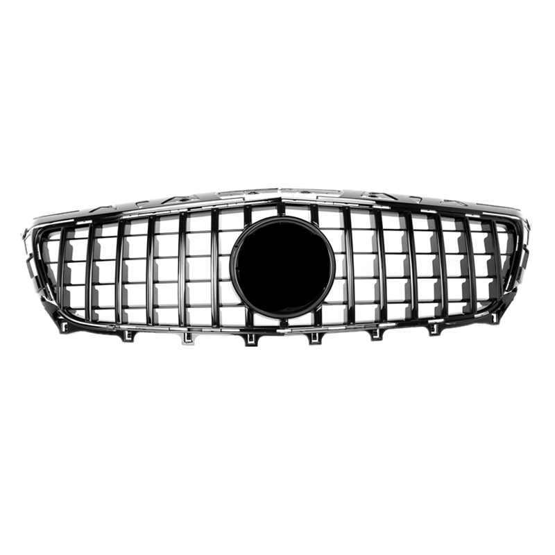 For CLS <font><b>W218</b></font> GT <font><b>grille</b></font> ABS front <font><b>grille</b></font> fits for <font><b>W218</b></font> <font><b>grille</b></font> sedan auto car accessories front bumper image