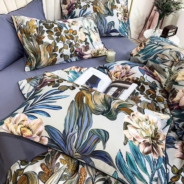 Egyptian Cotton Soft Bedding Set 5 Pcs 6