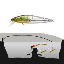 Minnow Wobbler bas Pike balıkçılık yapay yem gümüş bıçak uzun atış dalgıç yem 7g 10g bas Mini Tungsten çelik cazibesi