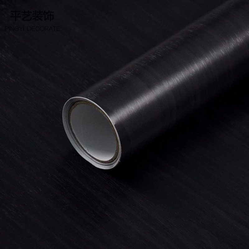 Environmental Protection PVC Black Wall Papers Long Murals Rolls For Living Room/Bedroom/TV Background Home Decor Wallpaper