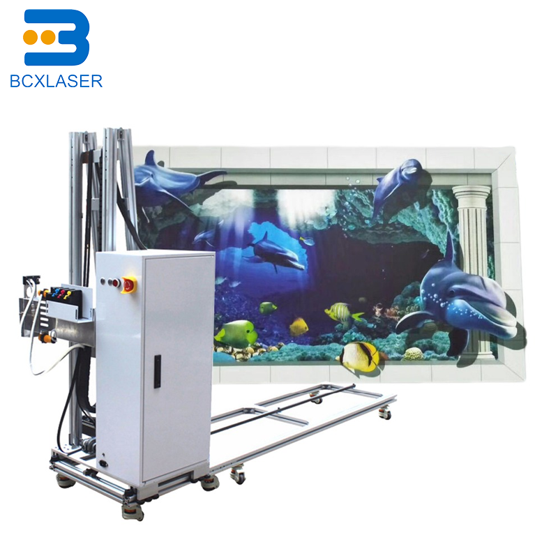 3D Uv Dx10 Double Head Vertical Wall Printer UV Printing Machine BODY