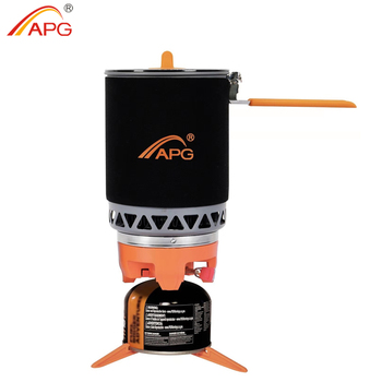 APG Portable Camping Gas Burners 1600ML System Camping Flueless Gas Stove Cooking System apg portable camping gas burners system and camping flueless gas stove cooking system