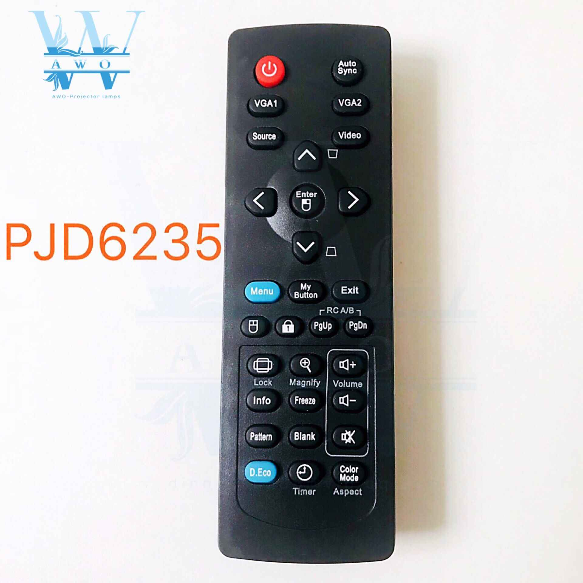 NIEUWE PJD6235 Afstandsbediening Voor ViewSonic Projector PJD6245 PJD6543W PJD5132 PJD5134 PJD5232L PJD5234L PJD5533W PJD6253 PJD6683W