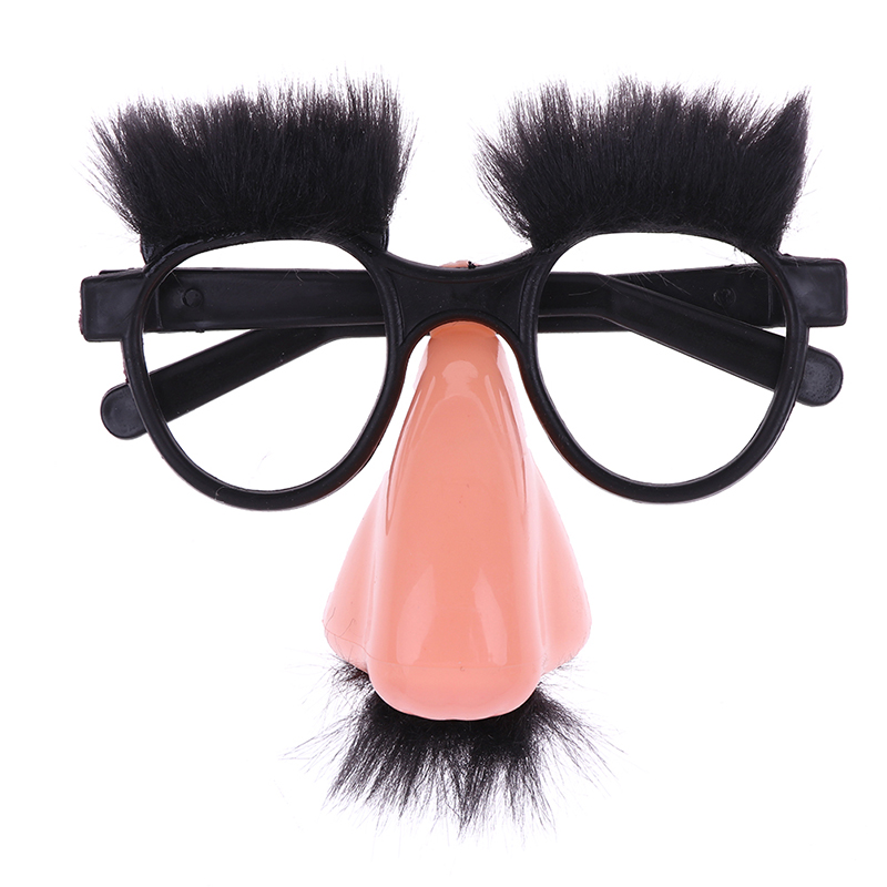 Novelty Toy Big Nose Funny Glasses Toys Party Bar Funny Gags Jokes Accessory Prop Halloween Tricky Decor Kids  Gift