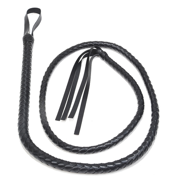 Black PU Leather Whip BDSM Bondage Set Slave Sex Toys for Women Sex Tools for Females Fetish Erotic Adult Couple Games