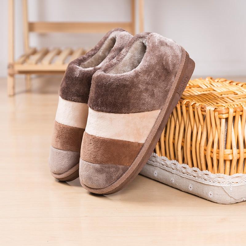 Женские и мужские тапочки; Зимние шерстяные домашние утолчённая тёплая обувь для него и для нее; Плюшевая домашняя обувь на плоской подошве; Мягкая удобная обувь Тапочки Тапочки      АлиЭкспресс