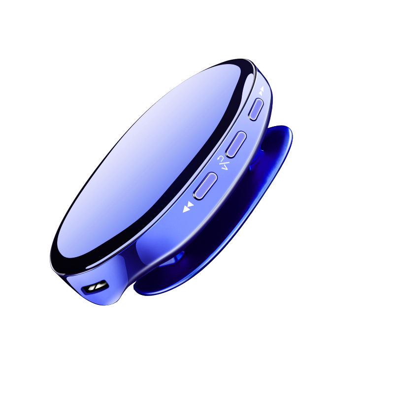 IQQ I3 New Portable Bluetooth 4.2 MP3 Player With Long Standby Lossless Music Play With 16G FM And Record Blue